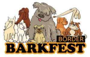 Dogs sit up for Border Barkfest