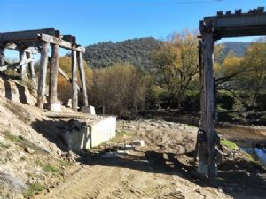 Bridging the final gap at Dry Forest Creek