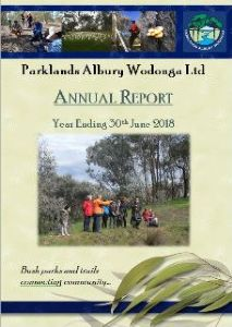 Parklands Annual Report for 2018